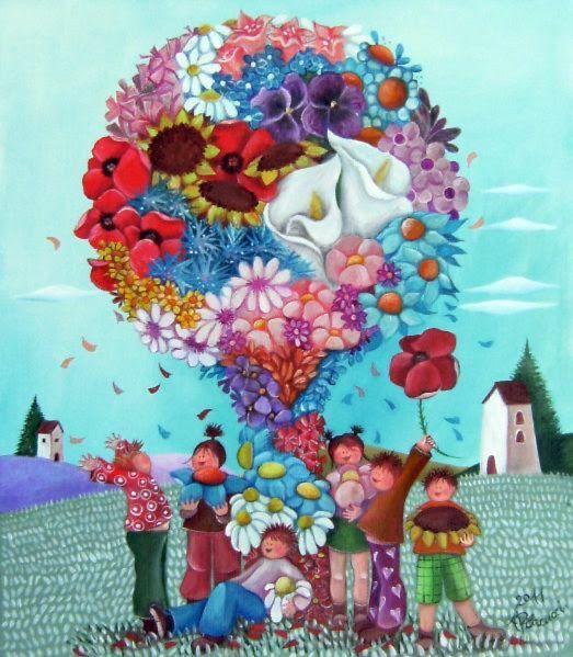 Alessandra Placucci-El árbol de flores