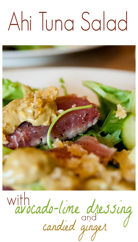 Ahi Tuna Recipes on Pinterest | Tuna Steaks, Tuna and Tuna Burgers