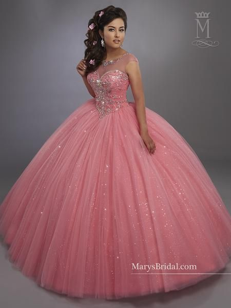 Make a lasting impression in a Mary s Bridal Beloving Collection Quinceanera  Dress Style 4768 at your Sweet 15 party or at any formal event. 9bfd294927f6