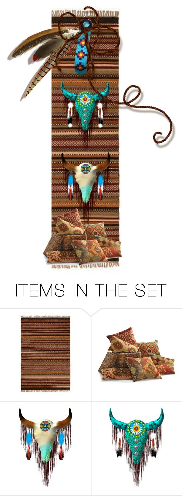 """Kilim Bookmarks"" by crisvalx-cv ❤ liked on Polyvore featuring art"