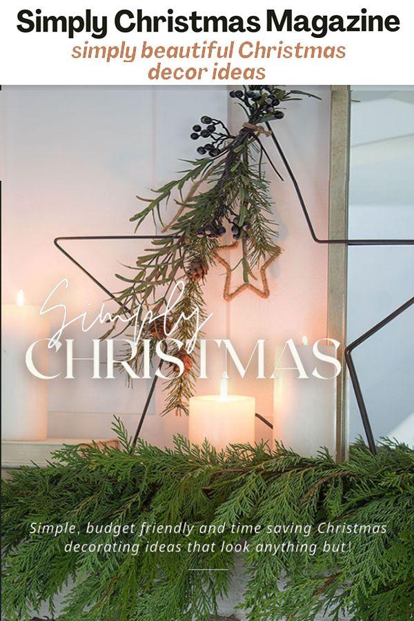 Simply Christmas Magazine The Honeycomb Home In 2020 Beautiful Christmas Christmas Decorations Holiday Season Christmas
