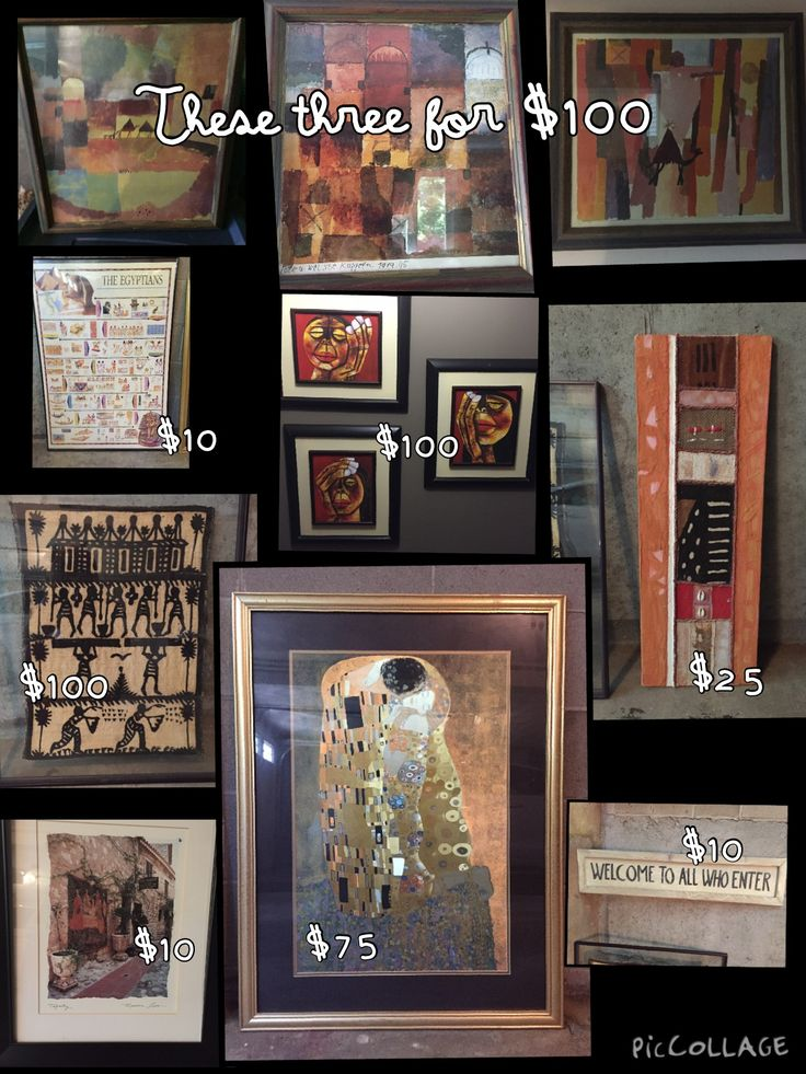 assorted artwork in hoods garage sale in lexington ma for 1 - Home Decor For Sale