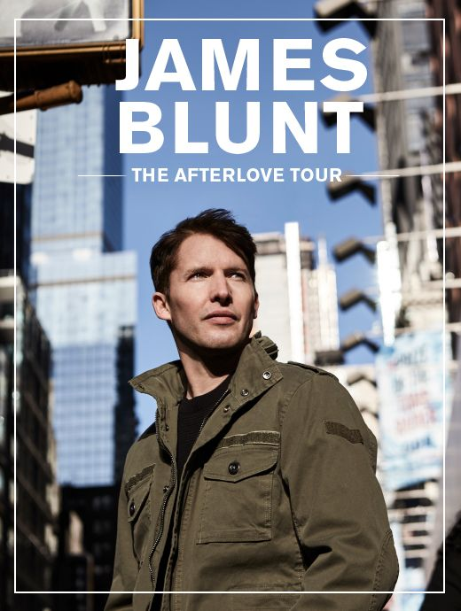 James Blunt The Afterlove Tour - Tickets unter www.semmel.de