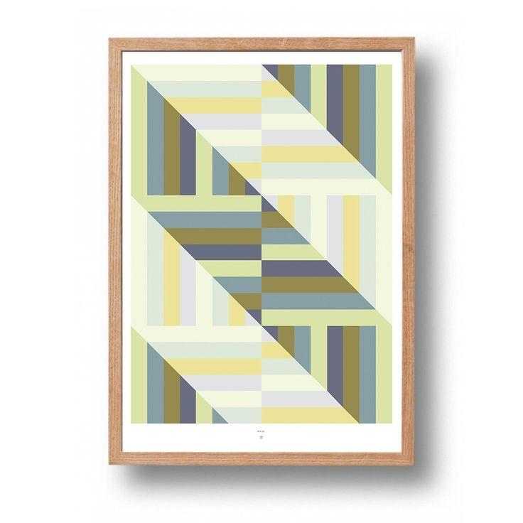 Abstract digital illustration of a geometric pattern inspired by a maze with a 70s color palette.Printed on 200 gsm Munken Lynx natural white matte paper.Signed by Jeanette Stavik Kjøsnes.Ex. Frame.-Digital illustrasjon av geometrisk mønster inspirert av labyrinter med en 70-talls fargepallett.Trykt på 200 gsm Munken Lynx naturhvitt matt papir.Signert av Jeanette Stavik Kjøsnes.Ekskl. rammeTags: geometrisk, print, trykk, nordisk, blå, blue, mønster, r...