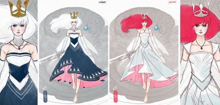 Aurora Child of Light outfits by TholiaArt.deviantart.com on @deviantART