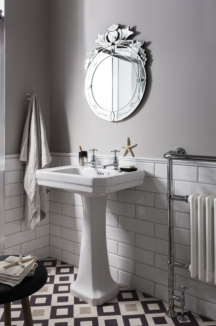 Bathrooms for sale uk - Add Instant Style To Bathrooms With This Beautiful Geometric Tiled Floor Now Available For Less