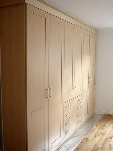 Shaker style laminate wardrobes!