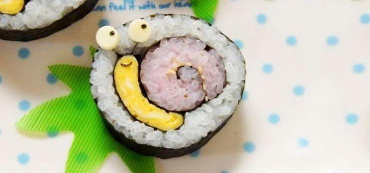 Фуд-арт: креативные суши для глаз и вкуса