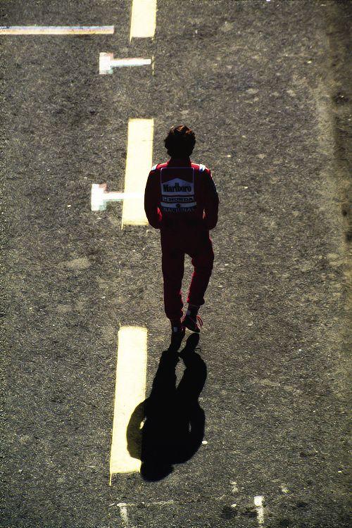 Senna walking alone                                                                                                                                                                                 More