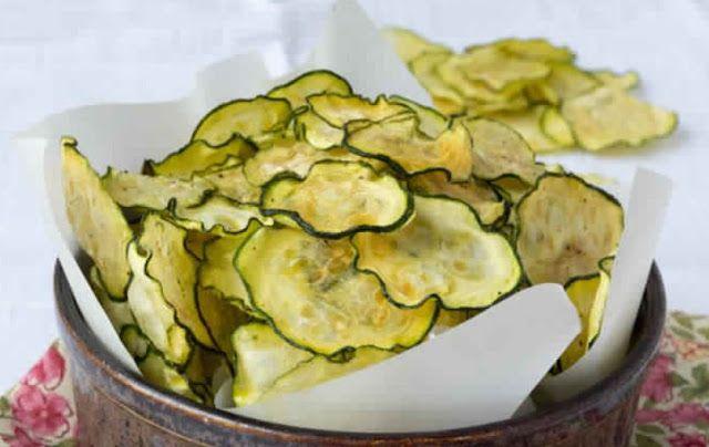 Salt and Vinegar Zucchini Chips | Weight Watchers Recipes
