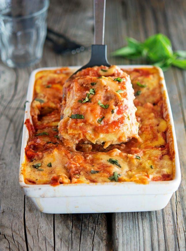 Cauliflower Noodle Lasagna