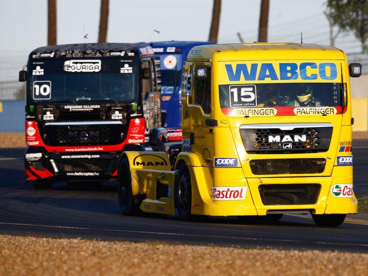 Semi Truck Racing   2006 MAN-TG semi tractor truck trucks race racing gd wallpaper ...