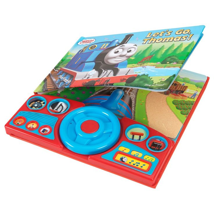Thomas Steering Wheel Lets Go Sound Book - Pre-School & Electronic Learning UK