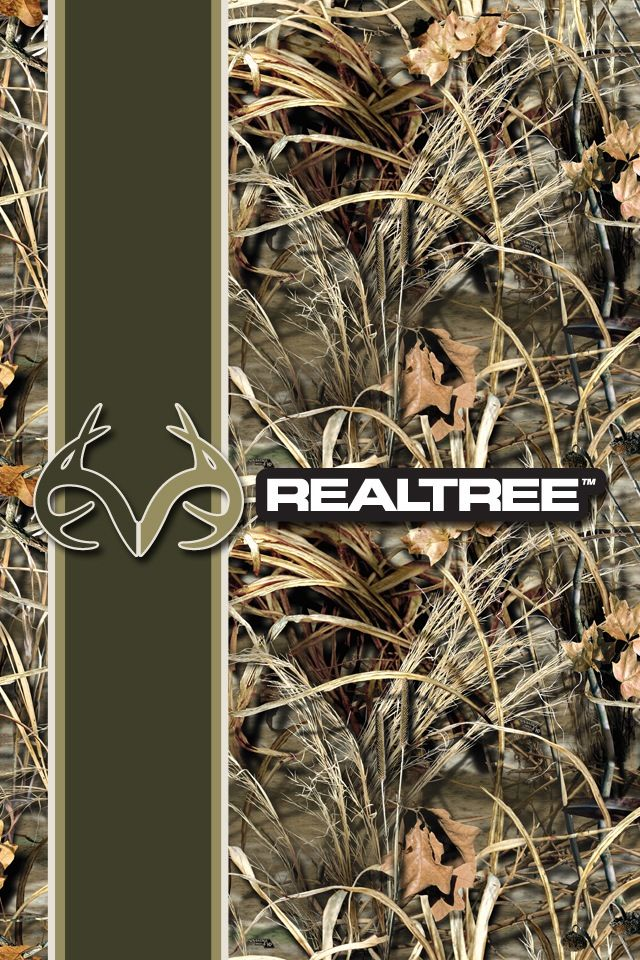 Realtree camo wallpapers. Yes, there's an app for that.
