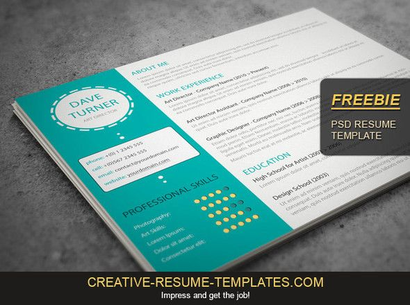 Resume Creation and resume templates on pinterest with comely the best resume templates for with dos and donts and pleasing entry level job resume also resume creation Download This Free Creative Resume Template And Get Finally Noticed