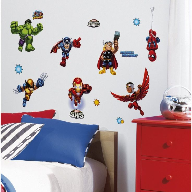 Marvel Bedroom You ll certainly become your child s superhero if