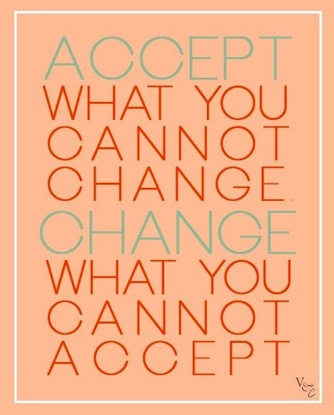 Accept The Change Quotes: Acceptance Quote Relating To Mexican Whiteboy Because In