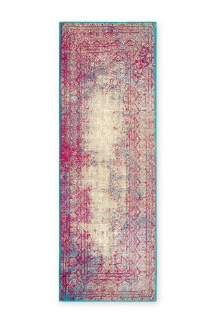 Buy Antique Effect Fuchsia Oriental Runner from the Next UK online shop