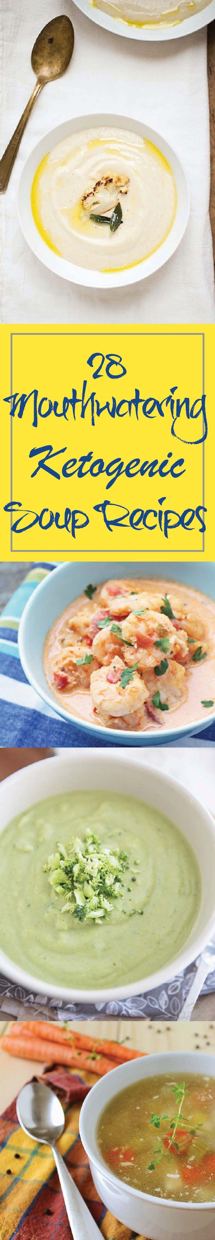 28 Ketogenic Soup Recipes http://paleomagazine.com/ketogenic-soup-recipes