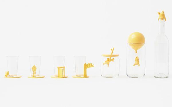 nendo×ディズニー!くまのプーさんのキュートなガラス製品が登場 − ISUTA(イスタ)オシャレを発信するニュースサイト