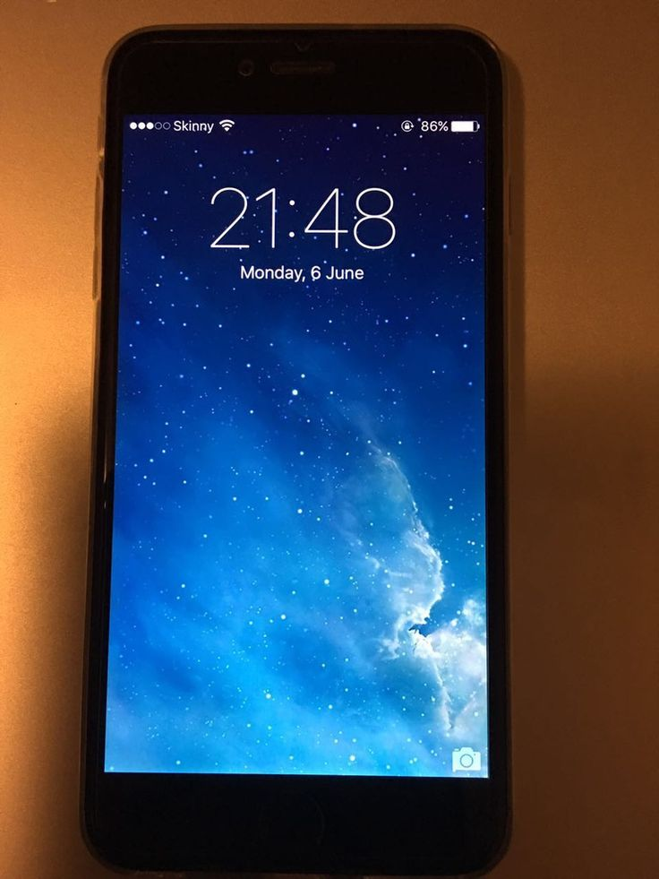 iPhone 6 Plus (Very good condition)