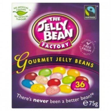 The Jelly Bean Factory 36 příchutí ovocné bonbóny 75g Tipy na potraviny do adventního kalendáře či mikulášského balíčku #hvězda #dekorace #cukroví #stromeček #dárky #Mikuláš #online #nákup #potraviny #tvoření #děti #rodina #advent #kalendář #3dmámablog