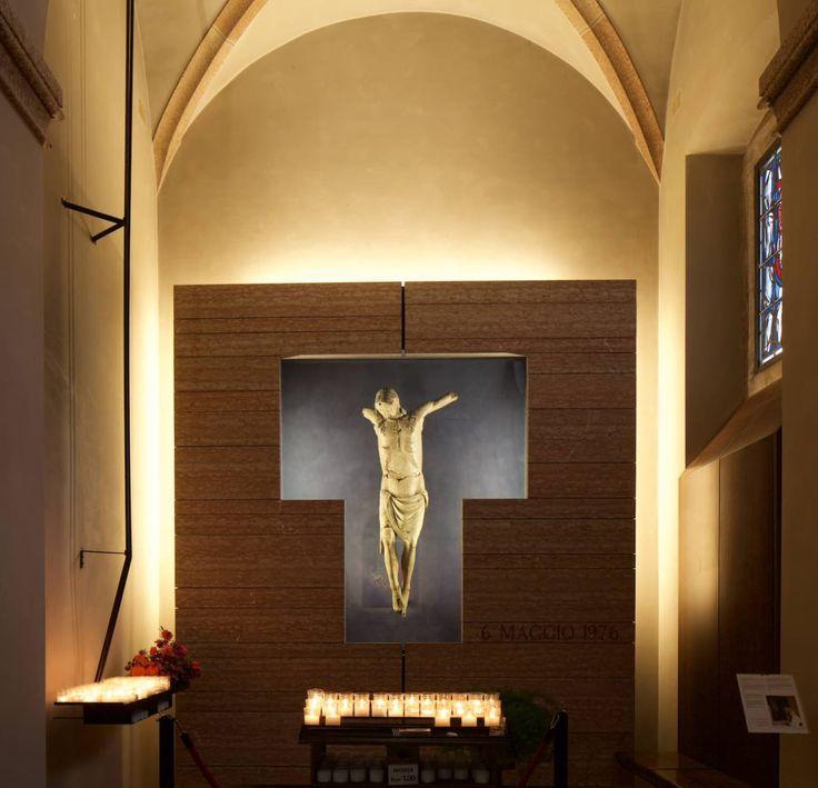 sandro pittini · Cappella del Cristo