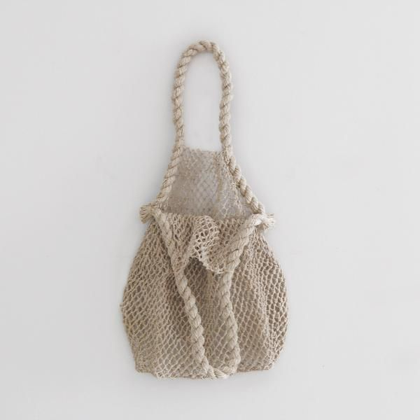 FRENCH NET MARKET BAG - NATURAL