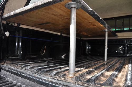 truck bed sleeping platform 9