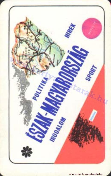 1975 - 1975_0822 - Régi magyar kártyanaptárak