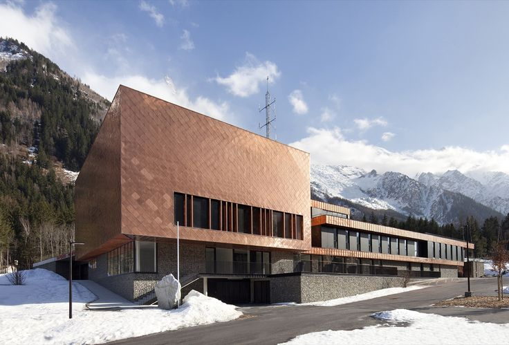Gallery of Fire Station in Chamonix-Mont Blanc Valley / Studio Gardoni Architectures - 6
