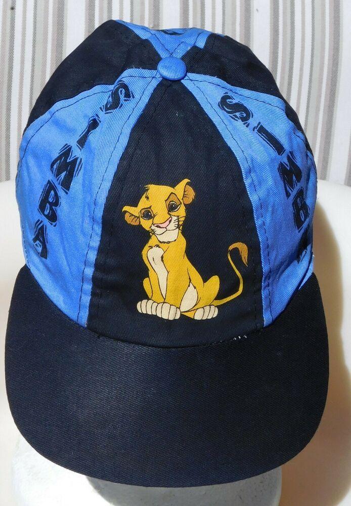 270b7ef05 VTG LION KING SIMBA Disney Baseball Cap Hat Child #HaT #BaseballCap ...