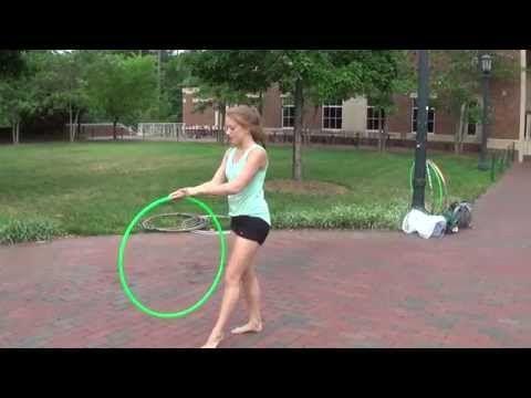 Hoop Path 8: Walk the Dog to Leg Hooping | The Ice Capades Hula Hoop Trick Tutorial - YouTube