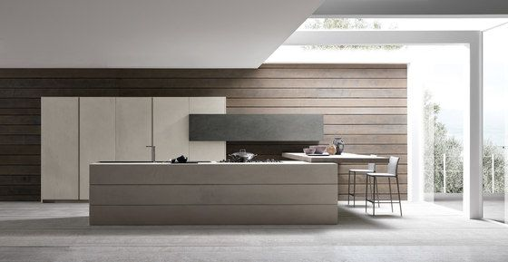 Twenty 1 resin island by Modulnova   Fitted kitchens