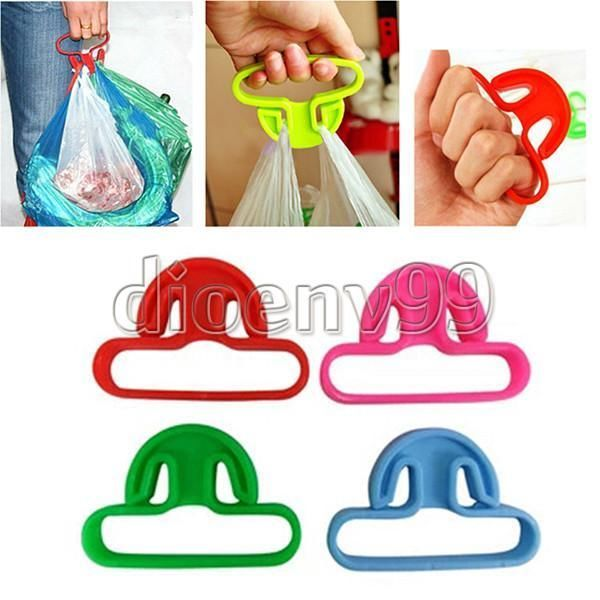 Effort Trip Shopping Lifter Hanger Grocery Bags Handle Grips Carrier Holder Tool #Unbranded