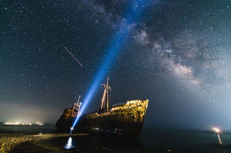 "In a galaxy far far away... - Shipwreck ""Dimitrios"" near Gytheio town"