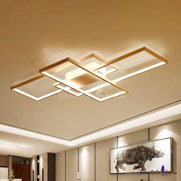 Minimalist Living Room Bedroom Led Rectangular Ceiling Fixture 33 46 Minimalist Living Room Living Room Lighting Minimalist Living