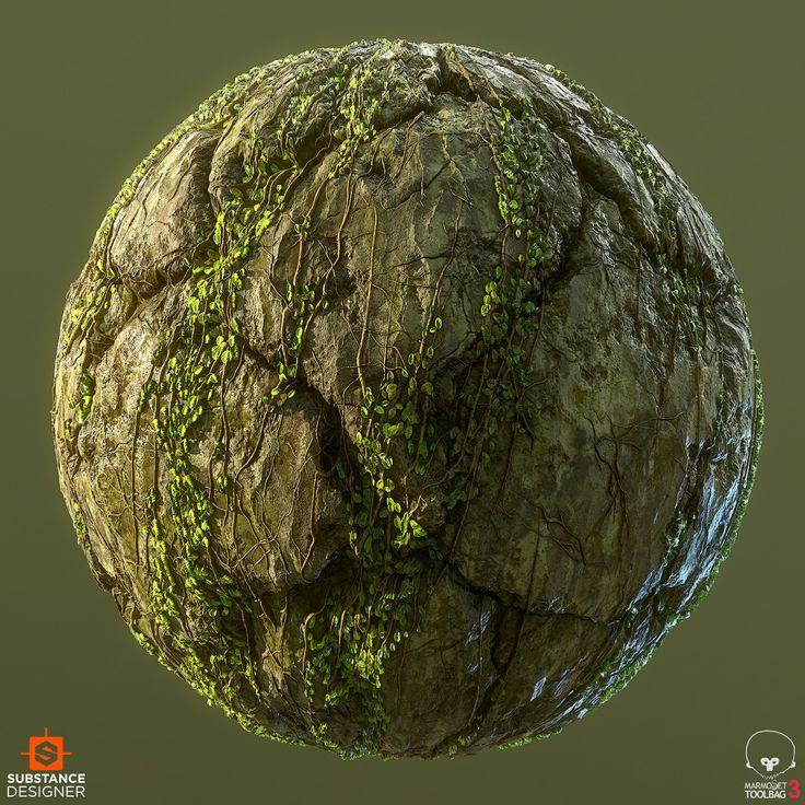 ArtStation - Overgrown Jungle Cliff, .: Dete :.