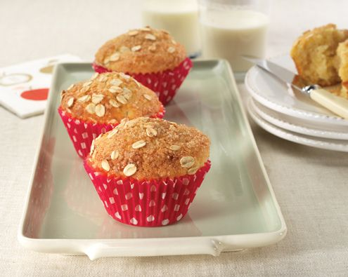 Recipes for Toddlers: Pear and Vanilla Crumble Muffins | Forbaby.co.nz