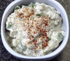 "Dr. Sebi Alkaline Electric ""Potato Salad"" by Ty's Conscious Kitchen! #tysconsciouskitchen #drsebi #alkaline #electricfood #vegan #vegetarian #recipes #veganlife #summerrecipe #bbq"