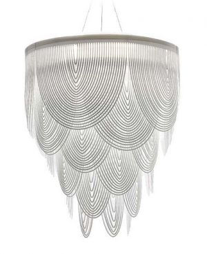 Ceremony chandelier by Slamp, designed by Bruno Rainaldi. @designerwallace