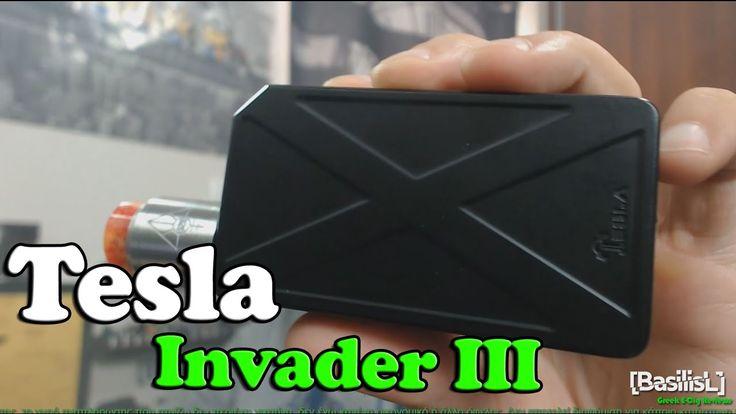 Tesla Invader III - BasilisL (Greek ecig Reviews)