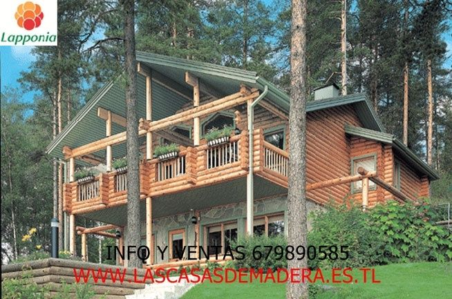 325 best casas de madera images on pinterest wood frame house country homes and boathouse - Casas canadienses espana ...