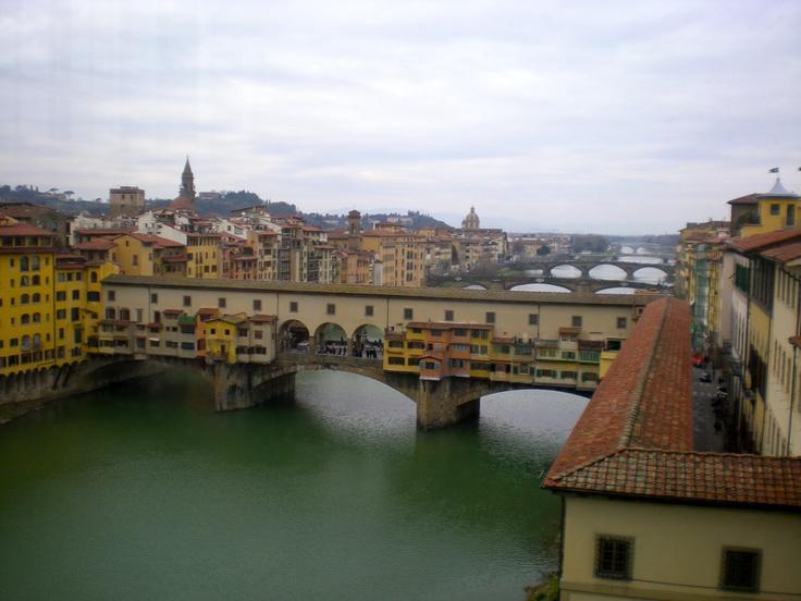Firenze vista da interno Uffizi  by Gianluca Carta