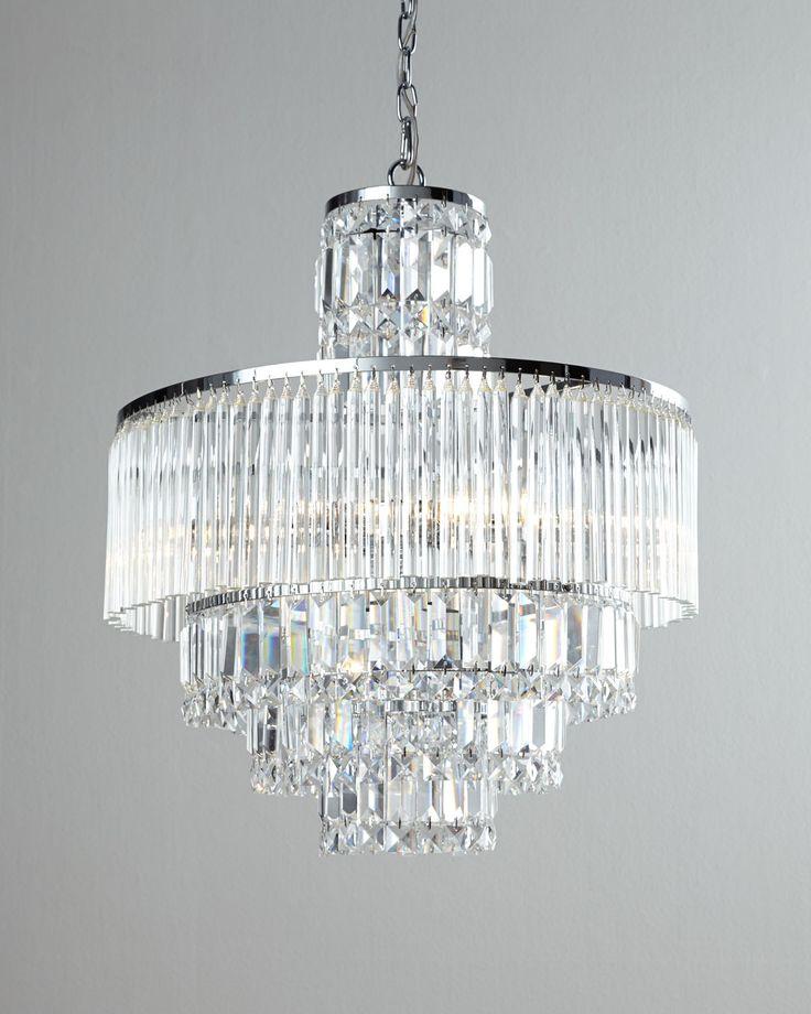 Rossborough Eight-Light Crystal Chandelier - Neiman Marcus