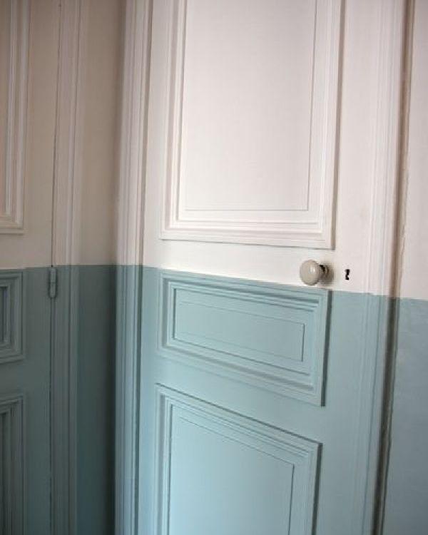Les 25 meilleures id es de la cat gorie murs demi peints for Epaisseur mur interieur