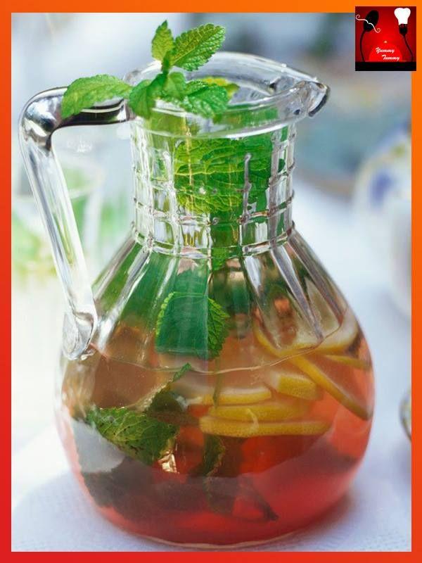 Ginger Iced Tea Recipe.... on.fb.me/1L2w3WU