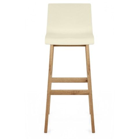Drift Oak & Cream Bar Stool - Atlantic Shopping