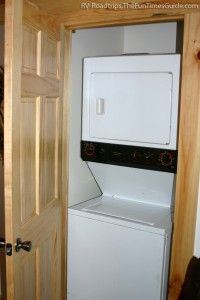 """Add an rv-laundry-room by converting a bunkhouse area.  Separate washer & dryer are cheaper than an """"rv"""" washer/dryer unit even tho the unit is smaller, it takes a lot longer to do laundry."""
