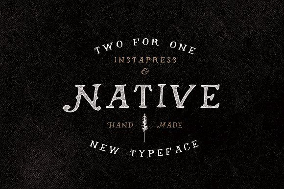 40% Off - Native + Instapress by Hustle Supply Co. on @creativemarket